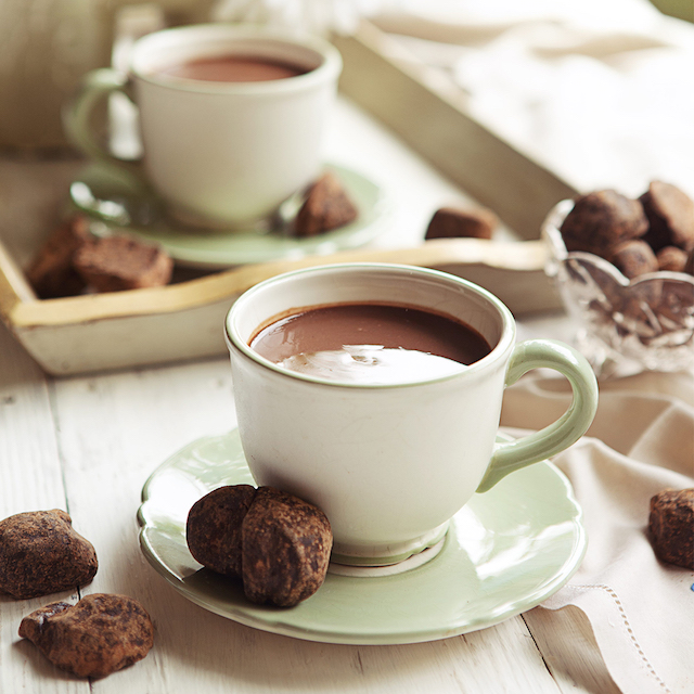 Hot Chocolate by Mary Grace Cafe