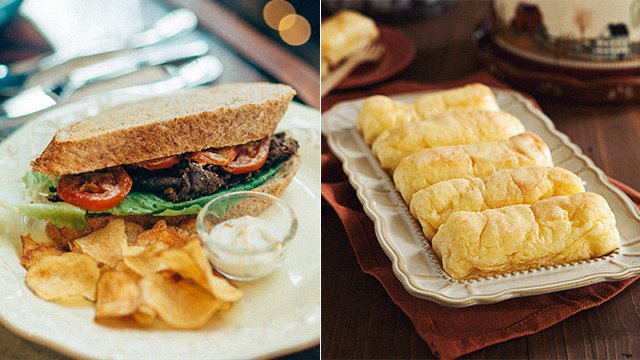Bestsellers from the Mary Grace Cafe Menu