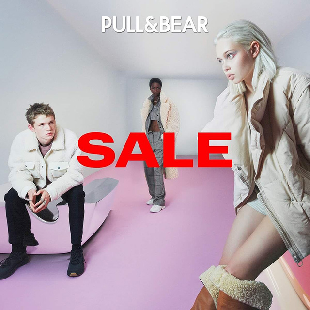 Pull&Bear's Exclusive Sale