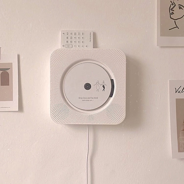 Wall Mounted CD Player (P2,950) from Ben & Bart