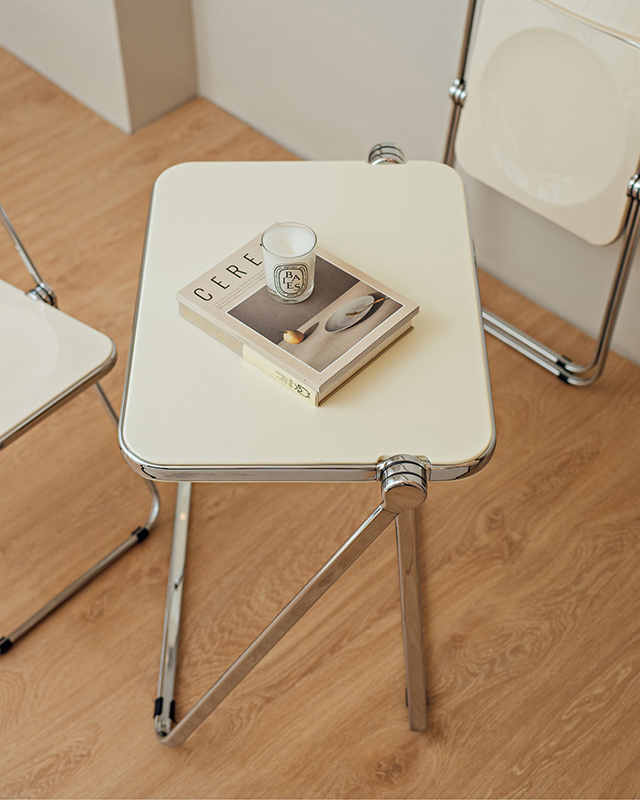Oga Foldable Table (P9,400) from By the Form