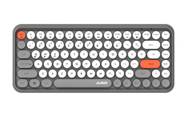 308i Bluetooth Wireless Keyboard 84 Classic Round Keys from Ajazz