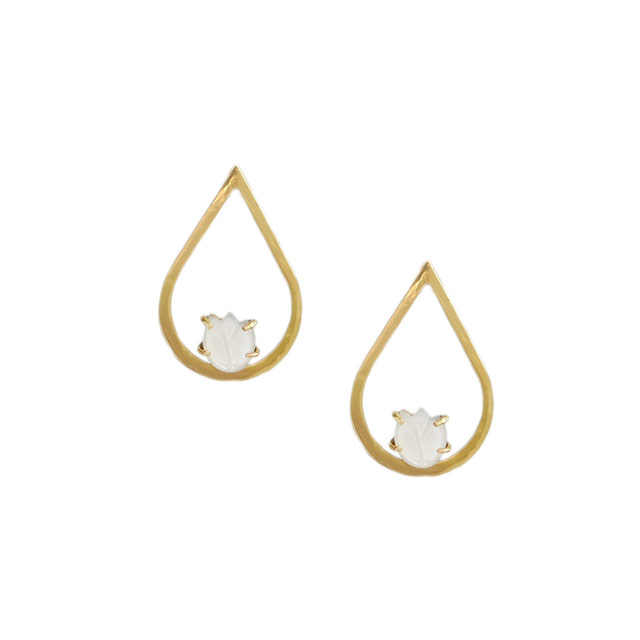 Lucienne Earrings in Gold (P4,150) from Lily