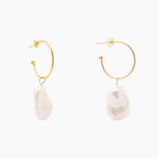Carmen Gold Hoops (P1,499) from Penny Pairs