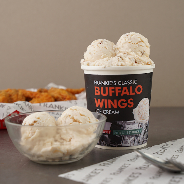 buffalo wings ice cream
