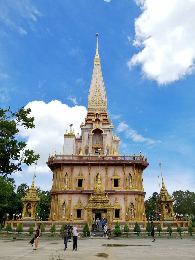 Wat Chalong is the largest Buddhist temple in Phuket, Thailand