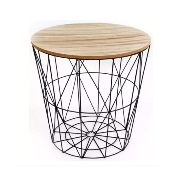 Side table - Wire Storage Side Table (P595) from True Value