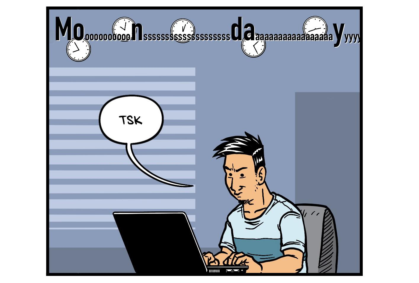 Work-from-home comics