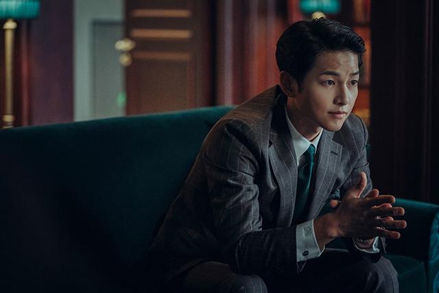 Song Joong ki as vincenzo