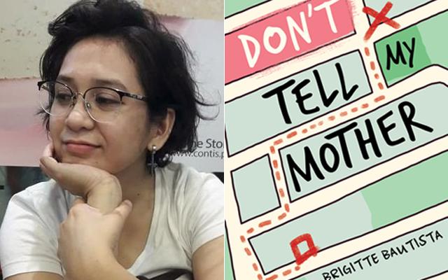 filipina writers: Brigitte Bautista's Don't Tell My Mother book