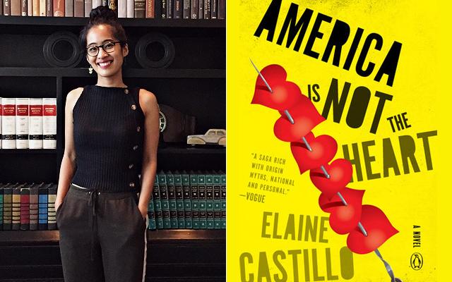filipina writers: Elaine Castillo's America Is Not the Heart novel