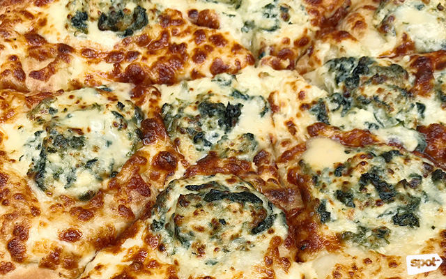angels pizza cheese and mayonnaise
