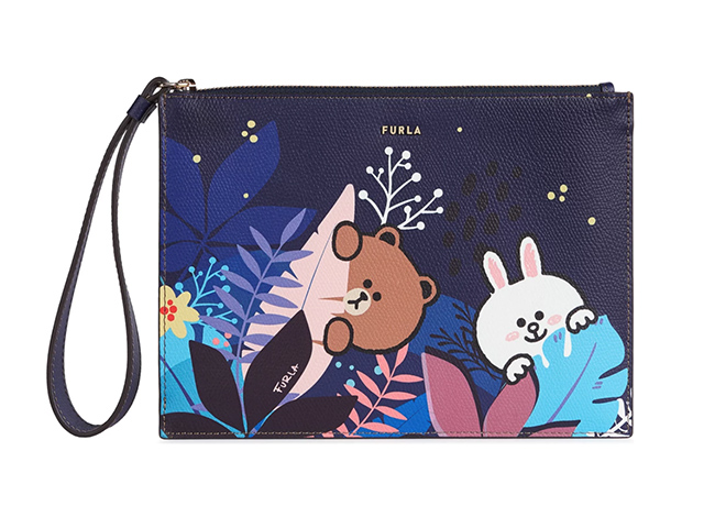 Furla teamed up with Line Friends