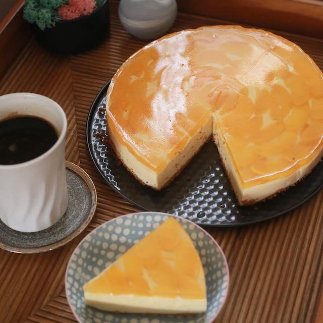 Mango Float Cream Puffs