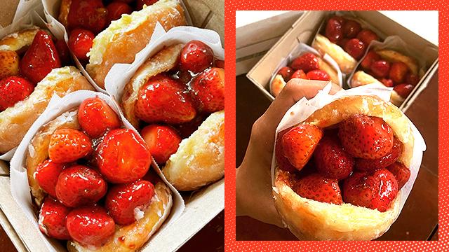 Strawberry Monst Doughnuts