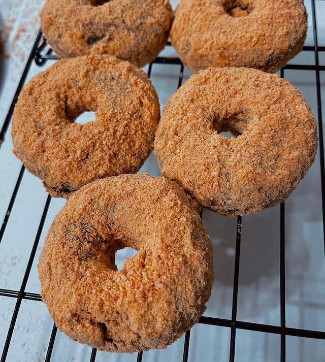 Choco Butternut donuts