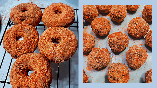 Choco Butternut Doughnuts