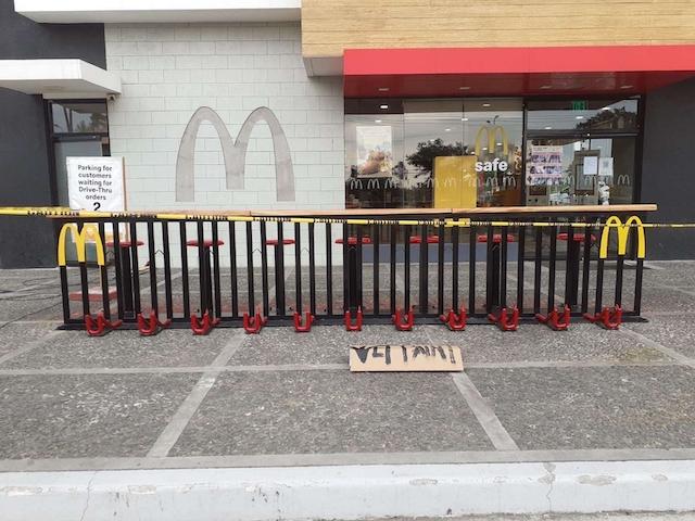McDonald's Bike and Dine
