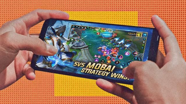 games like mobile legends