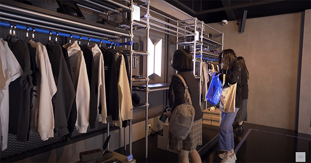 BTS Pop-Up Store in Seoul, South Korea