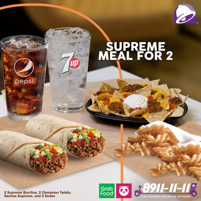Taco Bell Supreme Meal Promo
