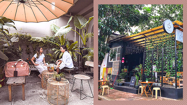 outdoor cafes