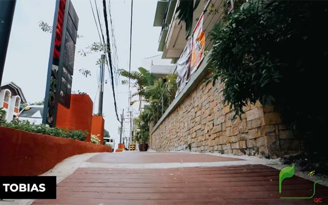 quezon city sidewalk