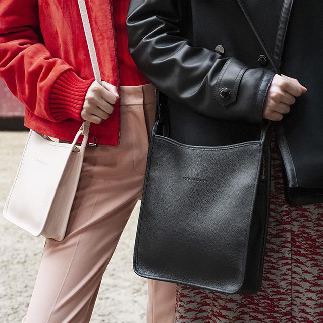 Longchamp Le Foulonné Zipped Crossbody Bag