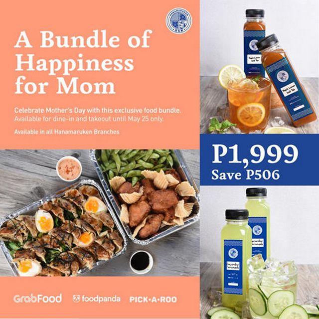 Metro Manila Restaurants: Hanamaruken Ramen mother's day bundle