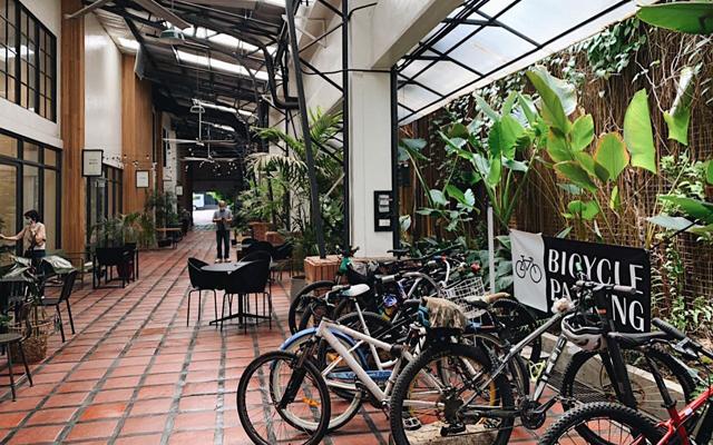 Metro Manila biking routes: The Alley at Karrivin, Makati