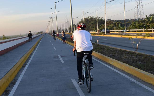 Metro Manila biking routes: C6 Bike Lane, Taguig