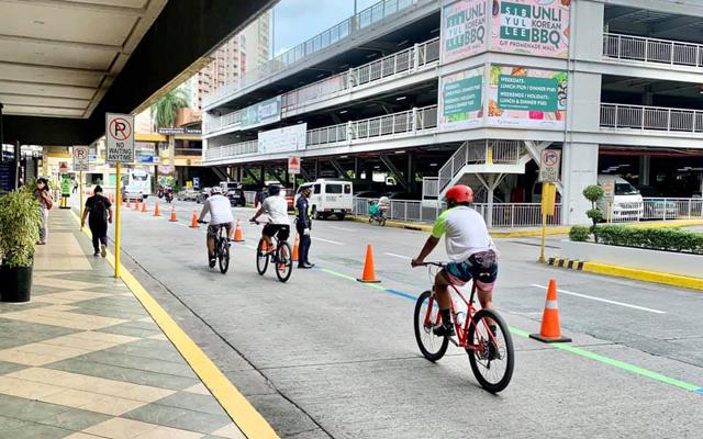 Metro Manila biking routes: Greenhills Active Playground, San Juan
