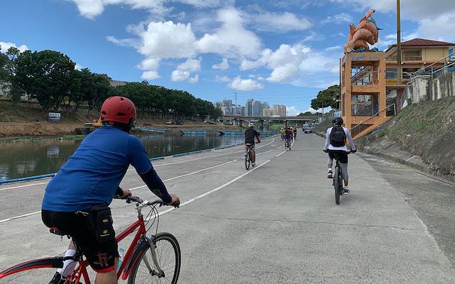 Metro Manila biking routes: Marikina River Park