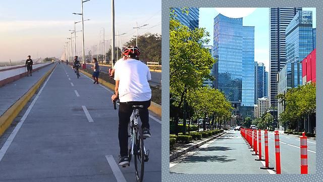 Metro Manila biking routes