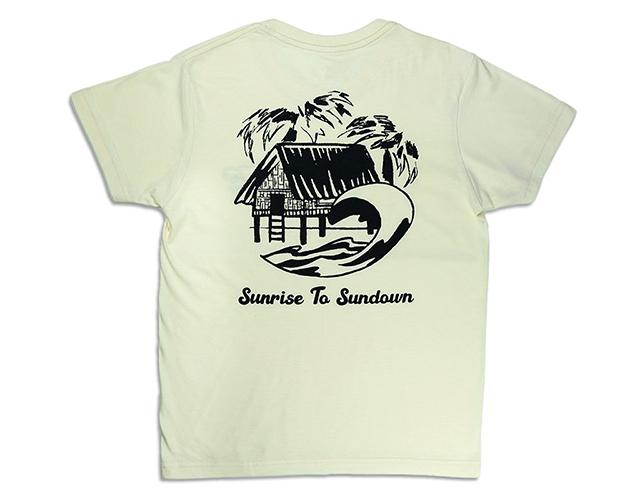 Amping Sundown T-Shirt back