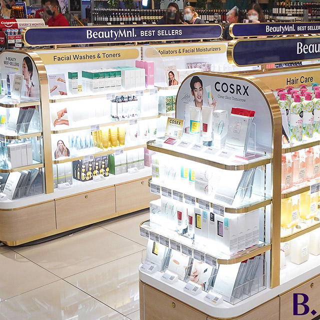 BeautyMNL physical store