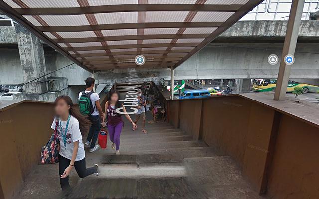 EDSA places with poor urban planning: Cubao-Aurora Footbridge