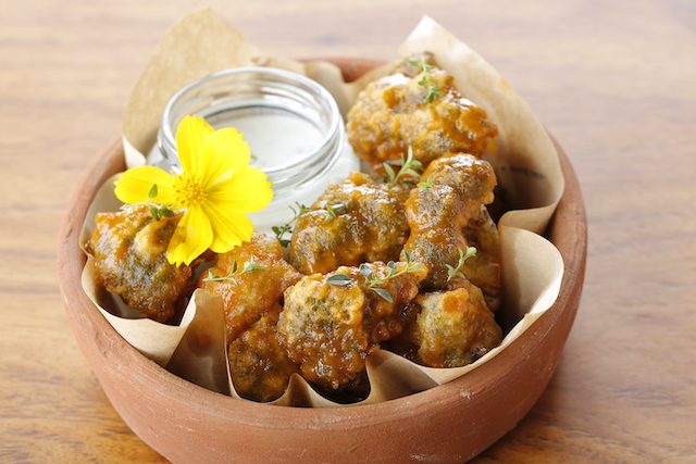 Farmer's Table menu: Hothouse Crispy Cauliflower & Broccoli