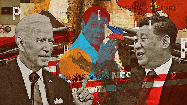 China, America, Philippines South China Sea ownership