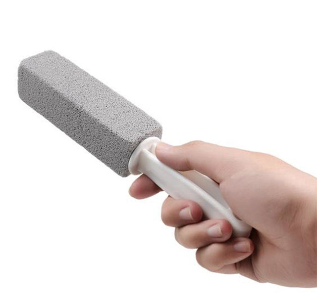 Bathroom cleaning tools: Pumice Stone Scouring Stick from Beauty Home