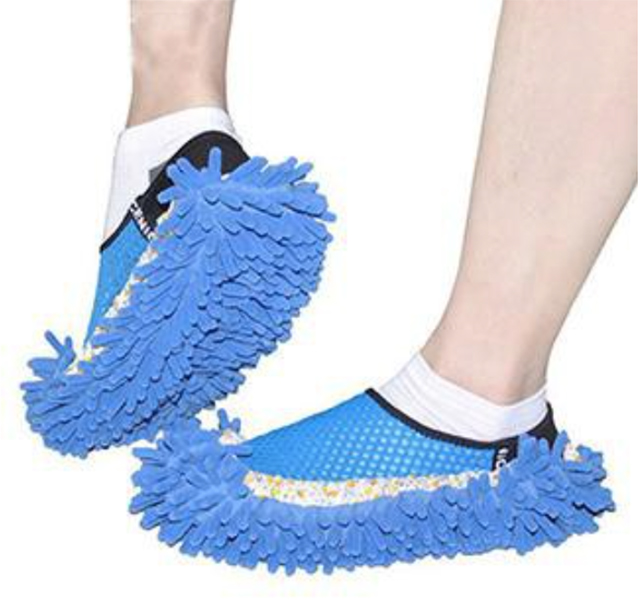 Bathroom cleaning tools: Floor Cleaning Slippers from Salzburg PH
