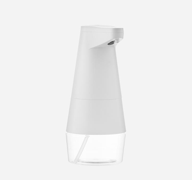 Bathroom cleaning tools: Rechargeable Sensor Bubble Soap Dispenser from SoapSonic