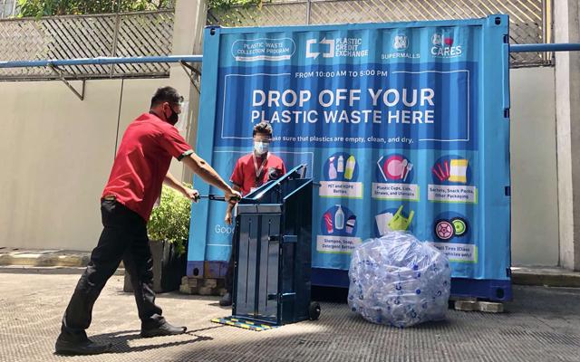 SM Supermalls plastic waste collection