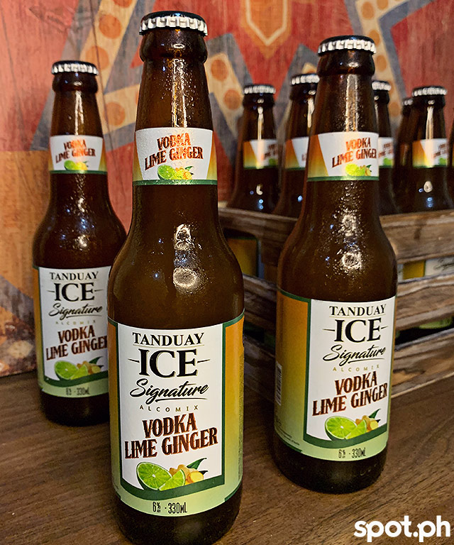 Tanduay Ice Vodka Lime Ginger
