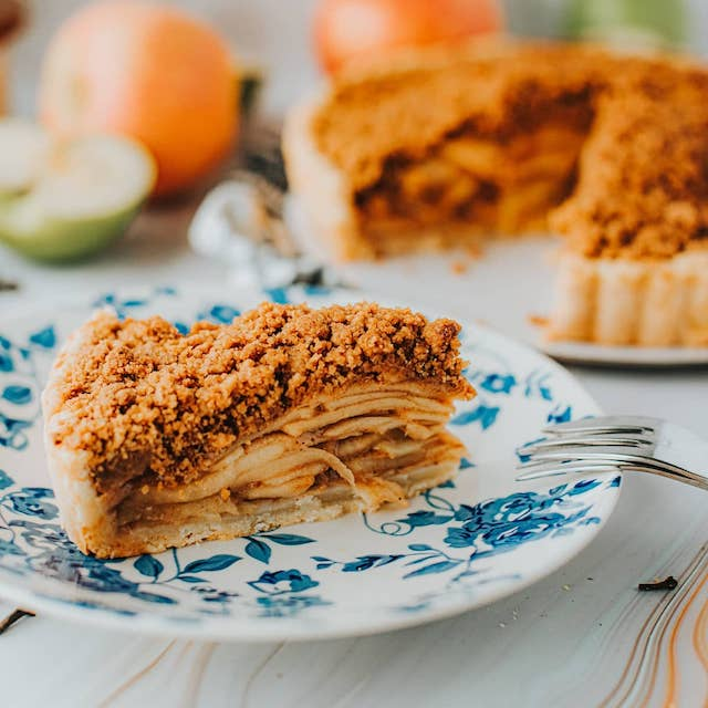 Apple Crumble Pie by Chronicle St. Pies