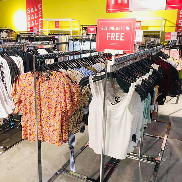 More tops and other clothes tagged as Buy 1 Get 1 Free