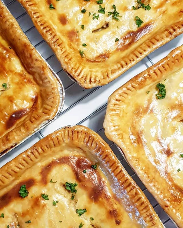 Baked Chicken Pastel Pies by Jay