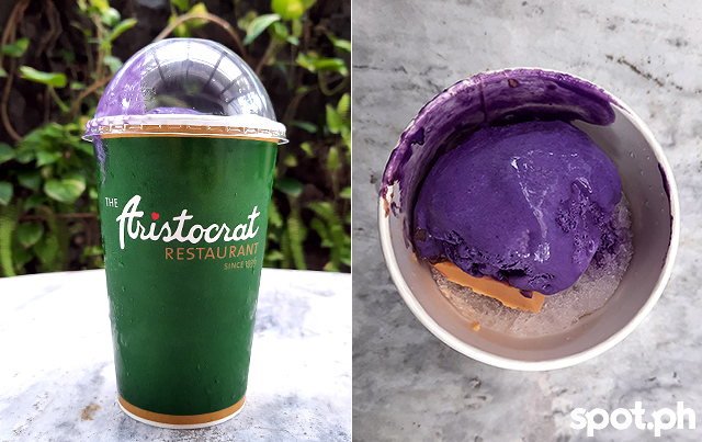 Halo Halo Special from Aristocrat Restaurant