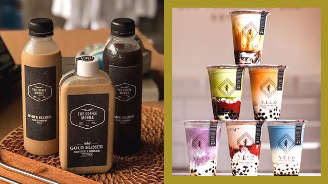 Milk tea in Cebu