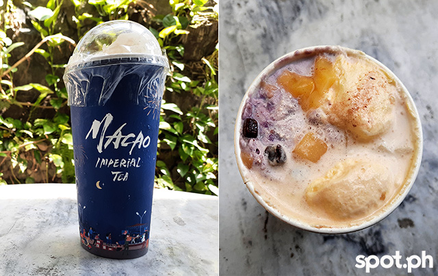 Cheesecake Halo-Halo from Macao Imperial Tea